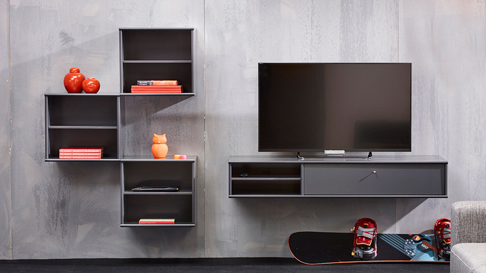 Mistral Cabinets 3x051 And Av Cabinet 158 With Flap 144 Everything In Anthracite